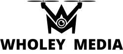Wholey Media with Text